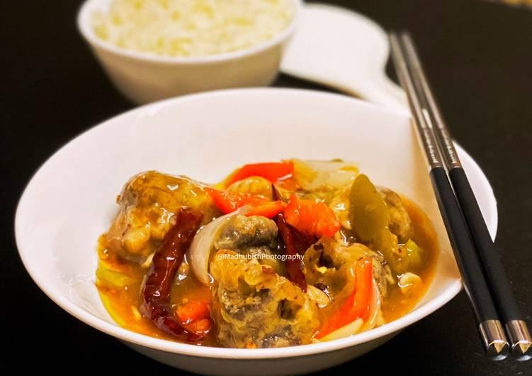 25 Minute Recipe of Ultimate Chinese Chilli Garlic Mushroom