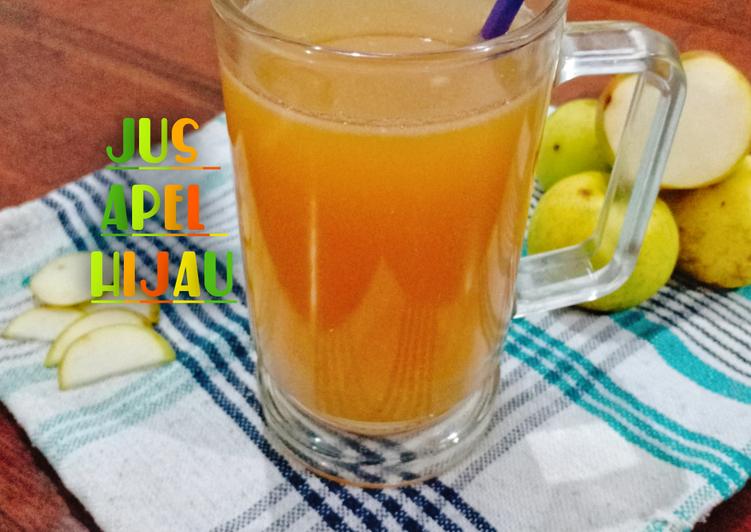 jus-apel-hijau