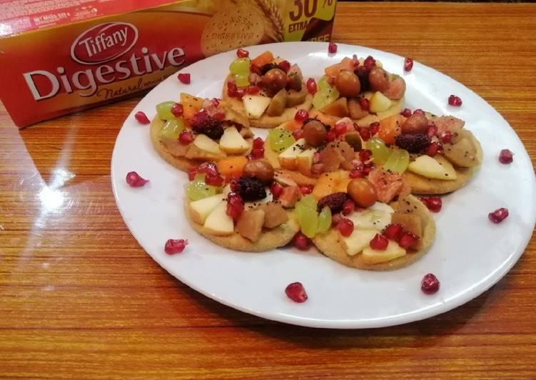 Biscuit Mix Fruit Tarts
