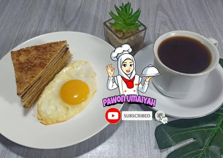 Resep Roti tawar kayu manis, menu sarapan paling mudah dan bergizi Terbaik