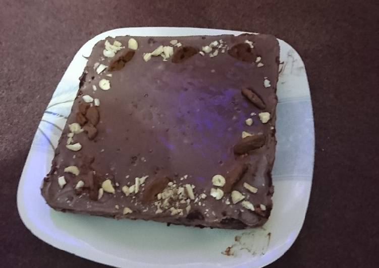 Chocolate Ice-cream biscuit cake
