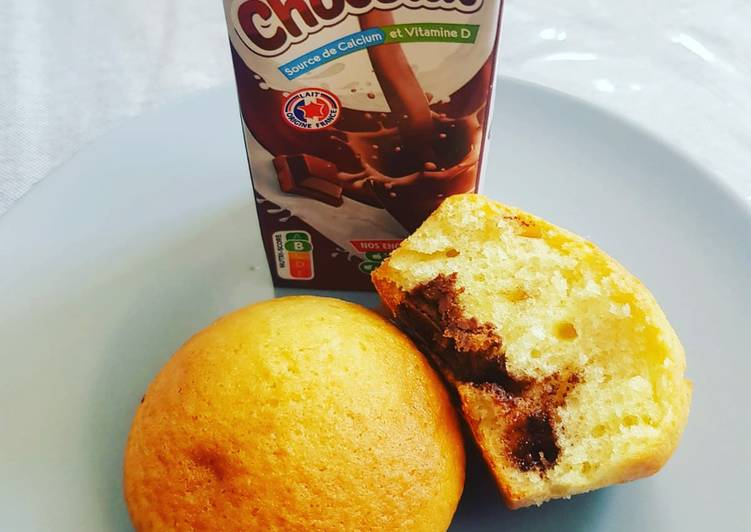 Recette de Favoris Mini marbré au chocolat