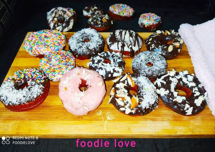 Easiest Way to Cook Appetizing Center filled Donuts