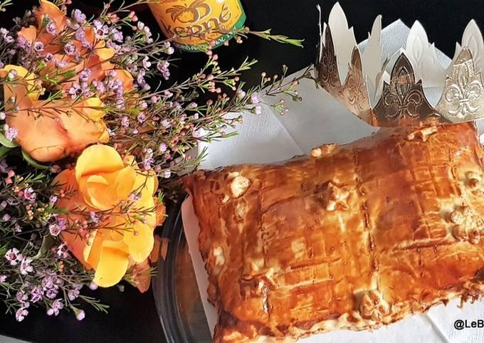 Galette des Rois au chocolat et pralin