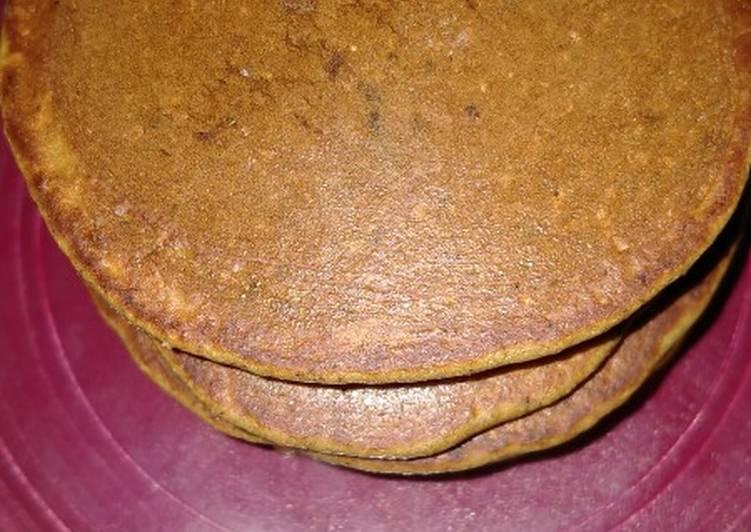 Resep Pancake oat kurma (sarapan sehat) Bikin Laper