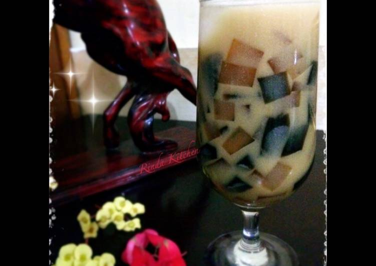 Es Cincau, Kopi mix Gula Merah