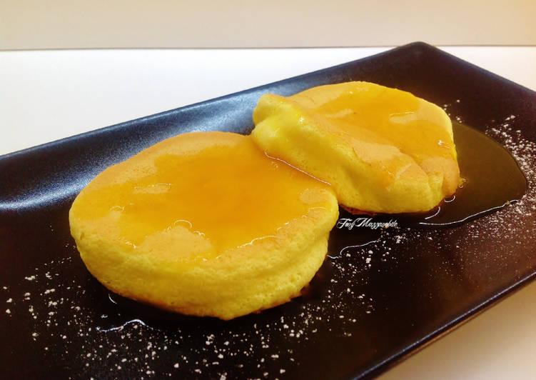 Pancake soufflè senza lievito