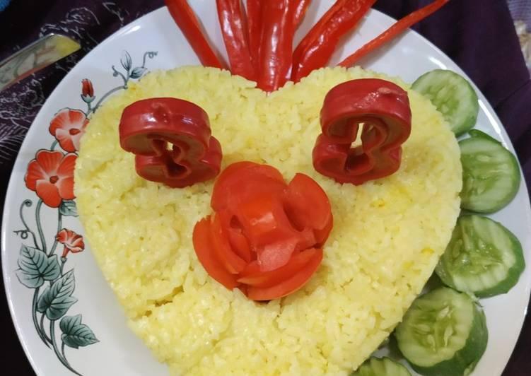 Nasi kuning love untuk yang tercintah 🤭