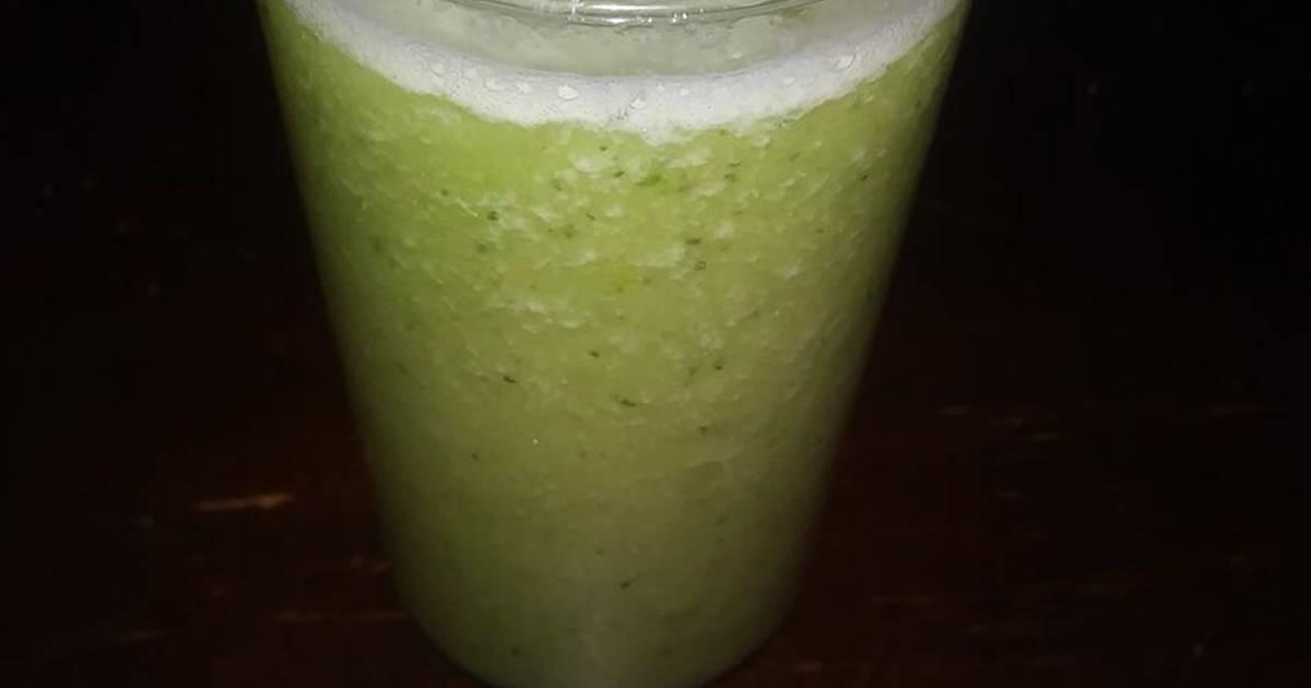 Receta de jugos verde para bajar de peso