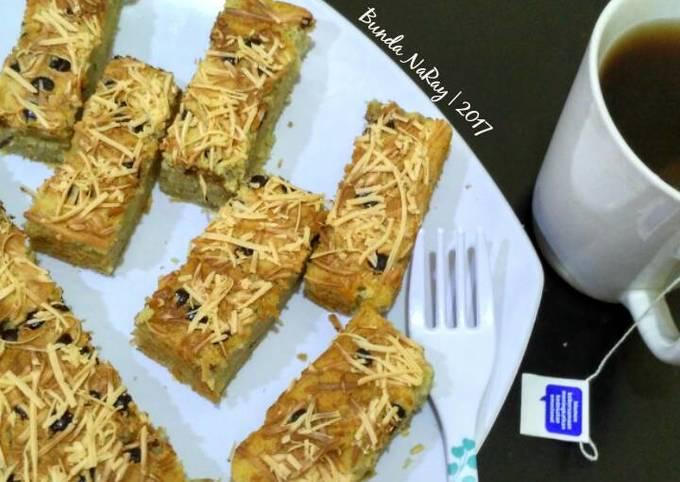 Resep Banana Cake Simple Hanya 5 Bahan Tanpa Bahan Pengembang Oleh Bunda Naray Cookpad
