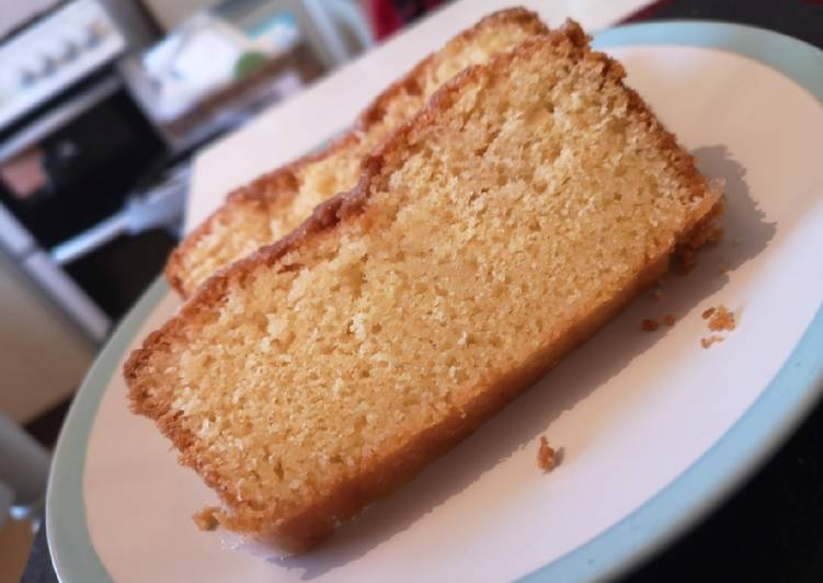 Recipe of Quick Lemon Drizzle Loaf
