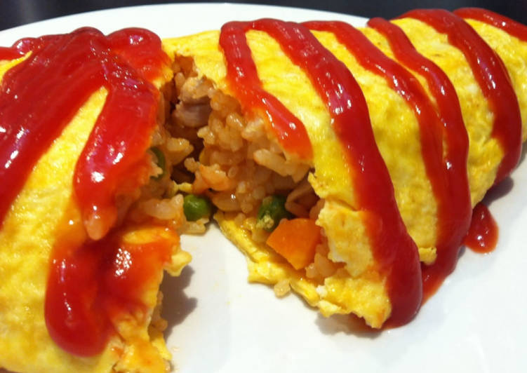 Easiest Way to Cook Tasty Omurice (Omelette Rice)