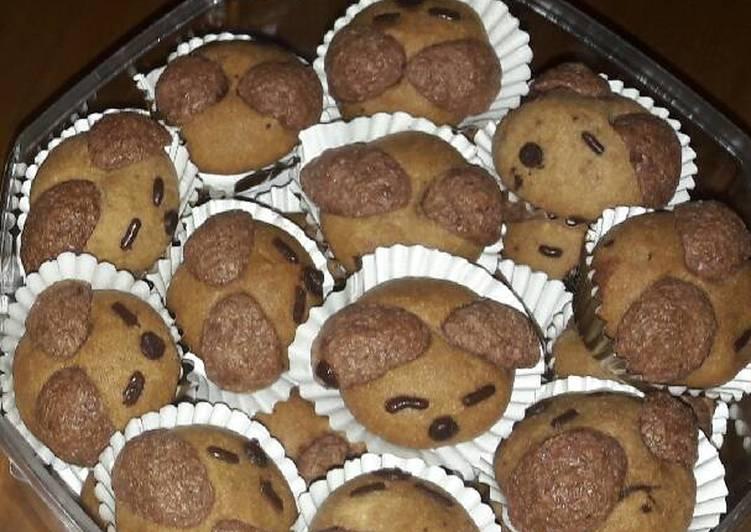 Milo doggy cookies eggless