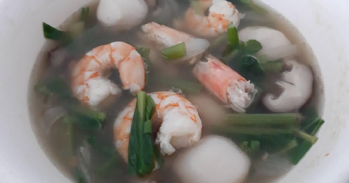 2 122 Resep Sup Udang Gurih Enak Dan Sederhana Ala Rumahan Cookpad