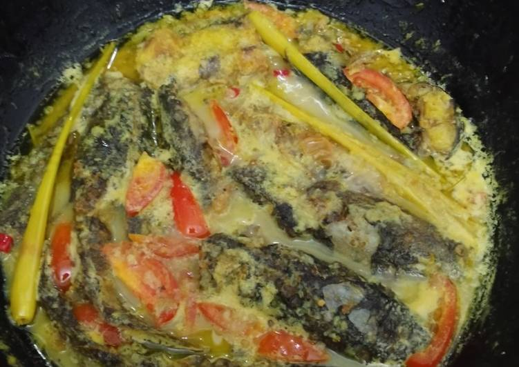 Ikan lele kuah susu gurih😁