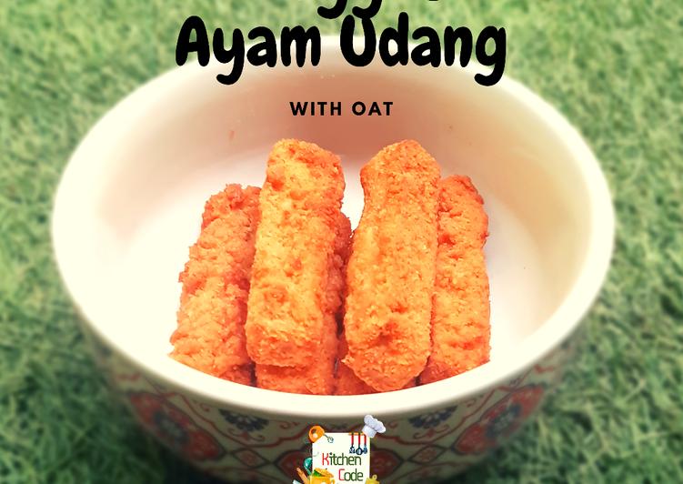 Resep Nugget Ayam Udang with OAT Anti Gagal
