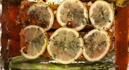 Hình ảnh món Salmon dinner