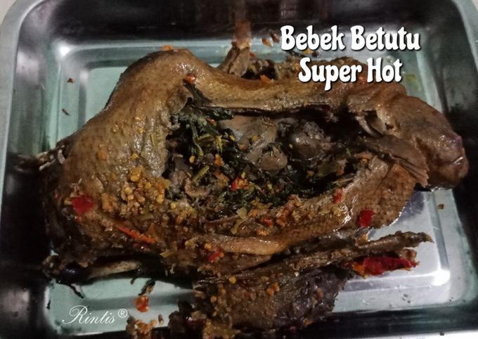 Resep Bebek Betutu Super Hot, Enak Banget
