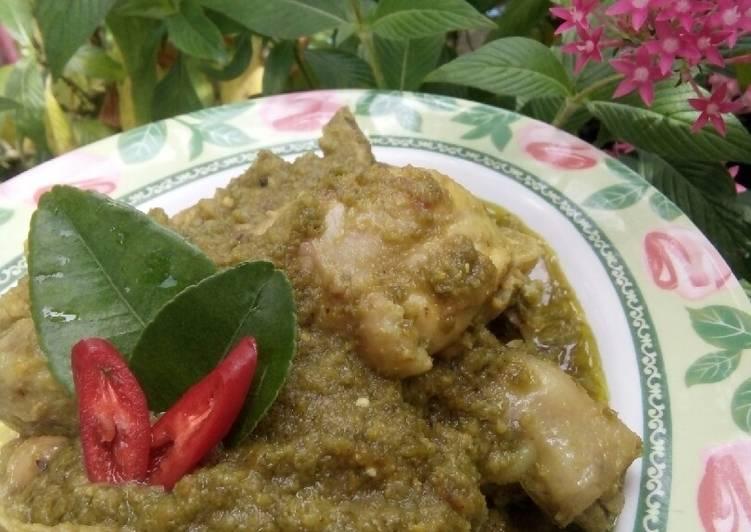 Ayam Lado Mudo/Ayam Cabai Hijau Minang
