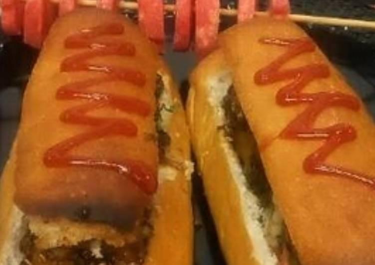Easiest Way to Prepare Yummy Tandori Soya chaap hot dog