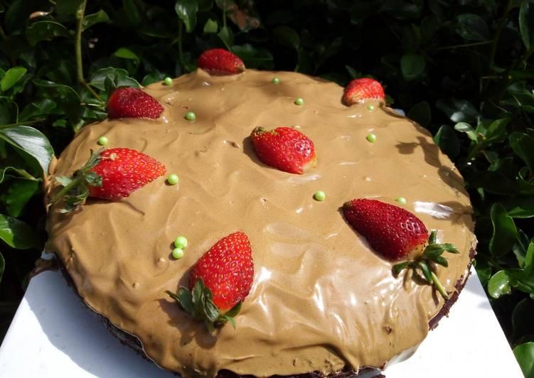 Dalgona Coffee Cake frosting