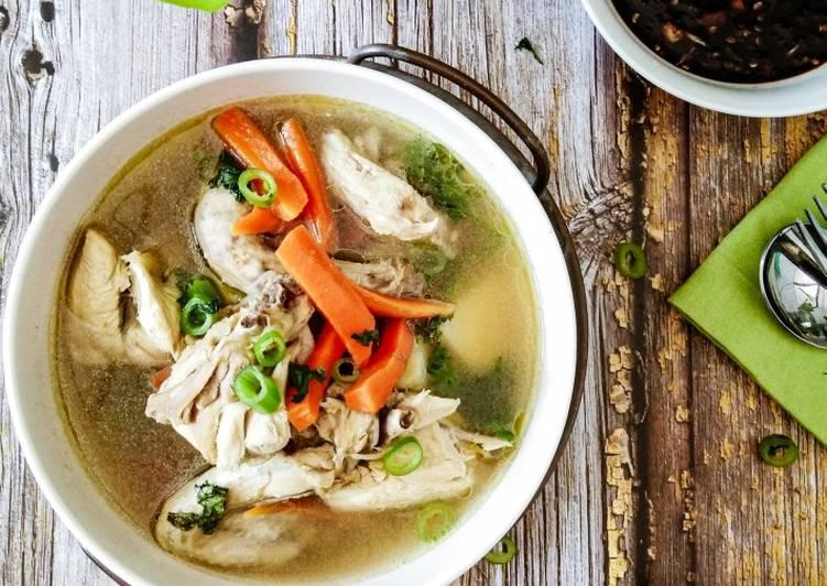 Sup Ayam Paling Ringkas #phopbylinimohd #batch21