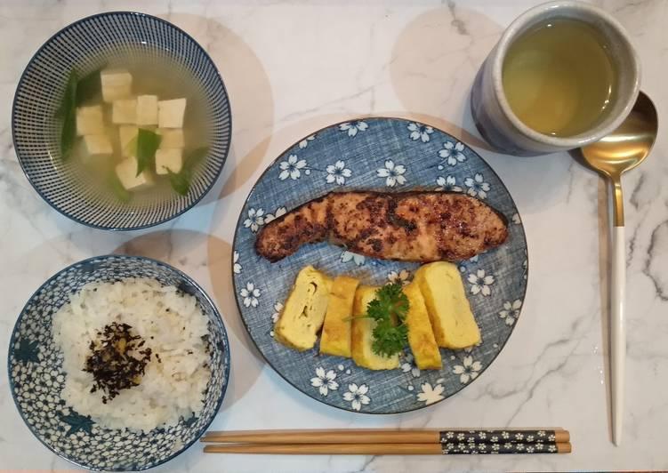 Resep Japanese Traditional Breakfast Paling Mudah