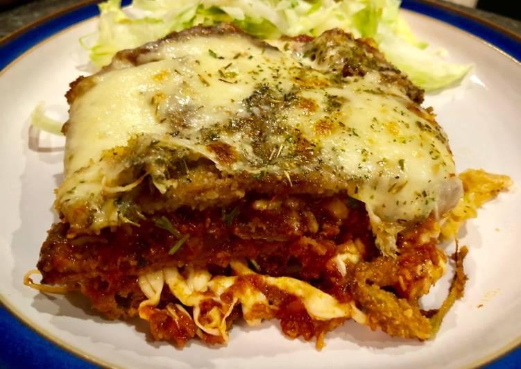 Recipe of Homemade Eggplant Parmesan