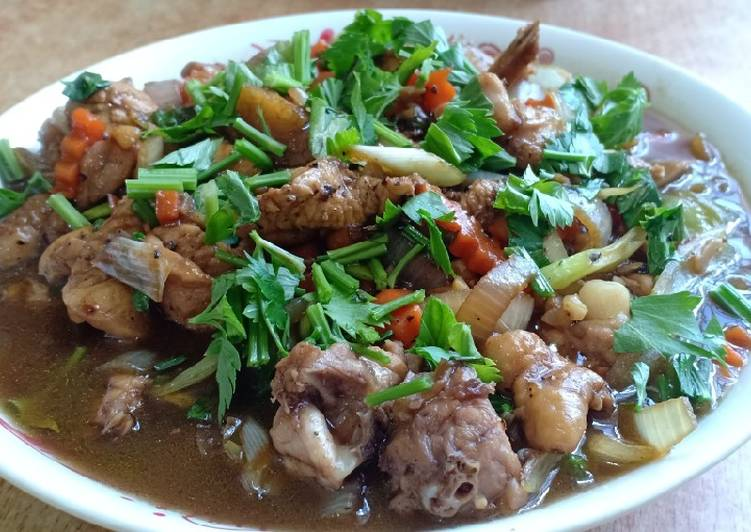 Bahan mengolah Ayam blackpepper simpel Anti Gagal