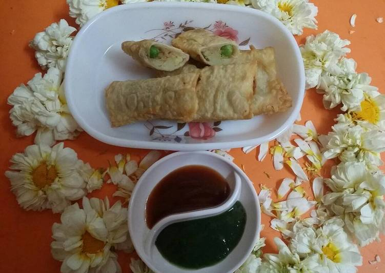 Aloo Mutter Wraps