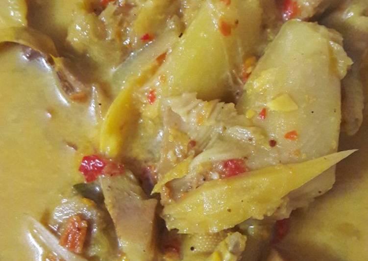 Gulai nangka ceker