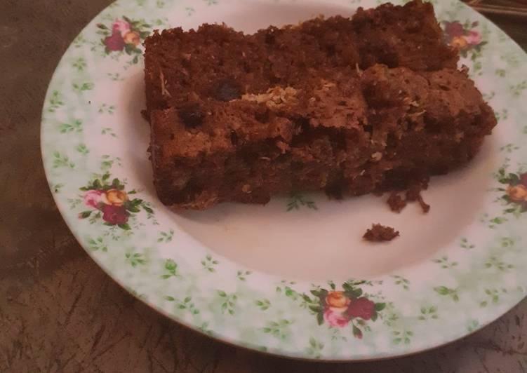 Choco Coconut Oat Cake