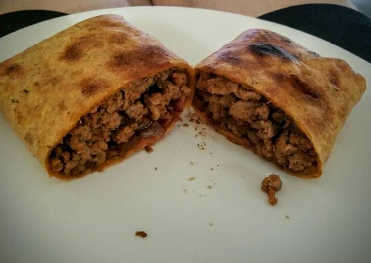 Meaty Turkey Bacon Burrito