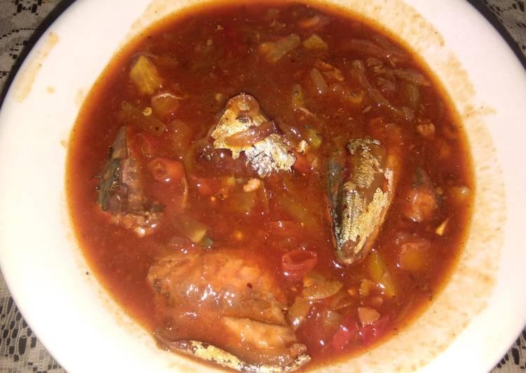 Ikan sarden kaleng suka suka