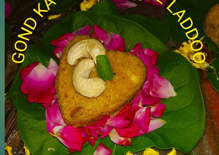 Step-by-Step Guide to Prepare Super Quick Homemade Gond ka Heart Shape Laddoo