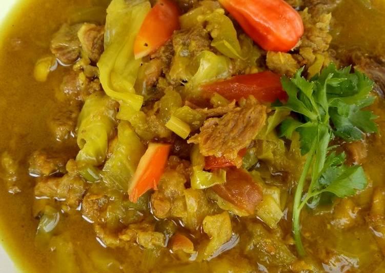 Tongseng Tetelan dan daging Sapi