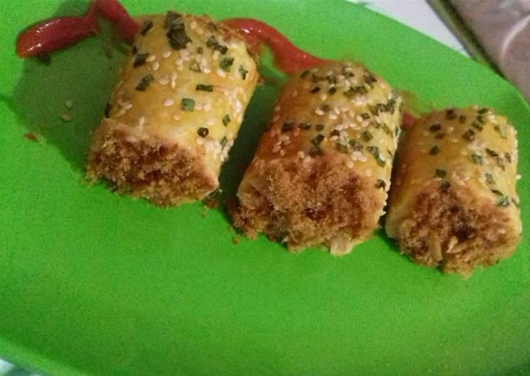 Beef floss roll mini 🍔🍞🍕