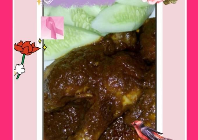 22.Rendang Ayam istimewa