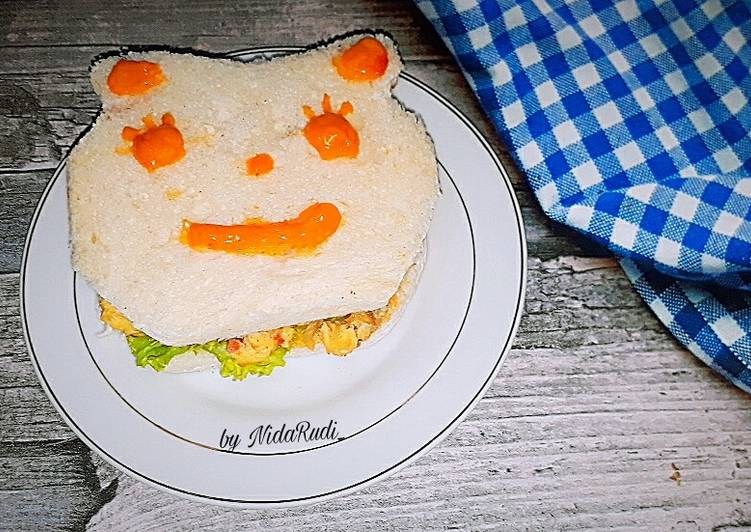 Resep Sanwich Telur untuk anak Paling Top