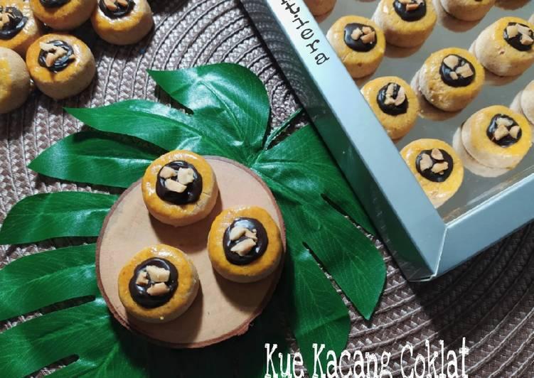 Kue Kacang 🥜 Coklat - cookandrecipe.com