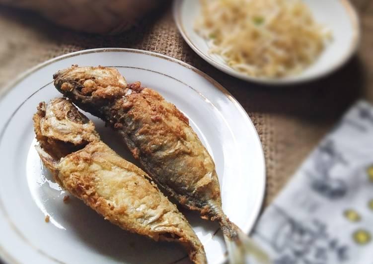 Ikan kembung goreng tepung🐟