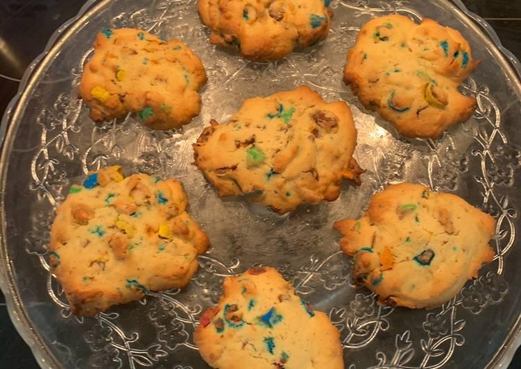 Comment Préparer Des Cookies M&Ms