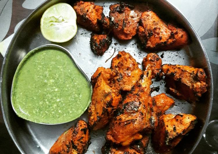 5 Minute Step-by-Step Guide to Make Homemade Tandoori chicken