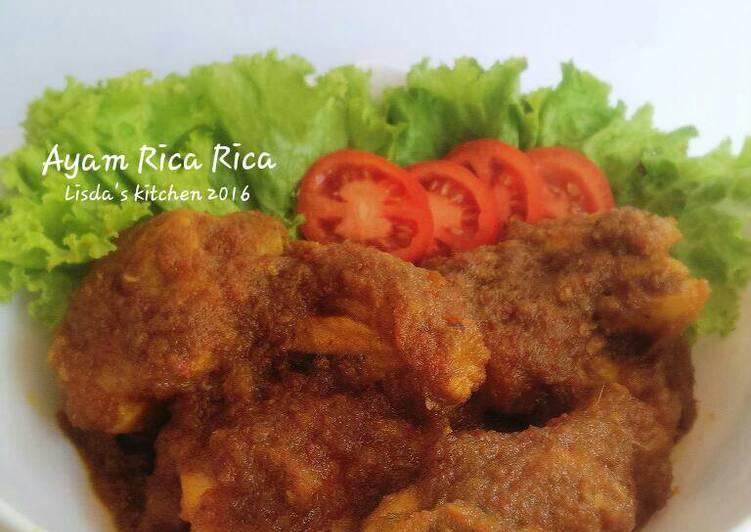 Cara Gampang Menyiapkan Ayam Rica Rica Simple dan Enak Anti Gagal