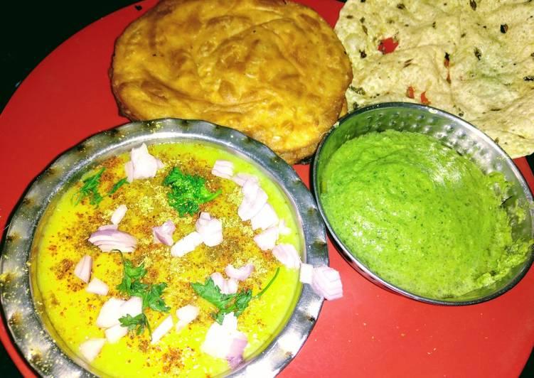 Dal Pakwan (Sindhi style)