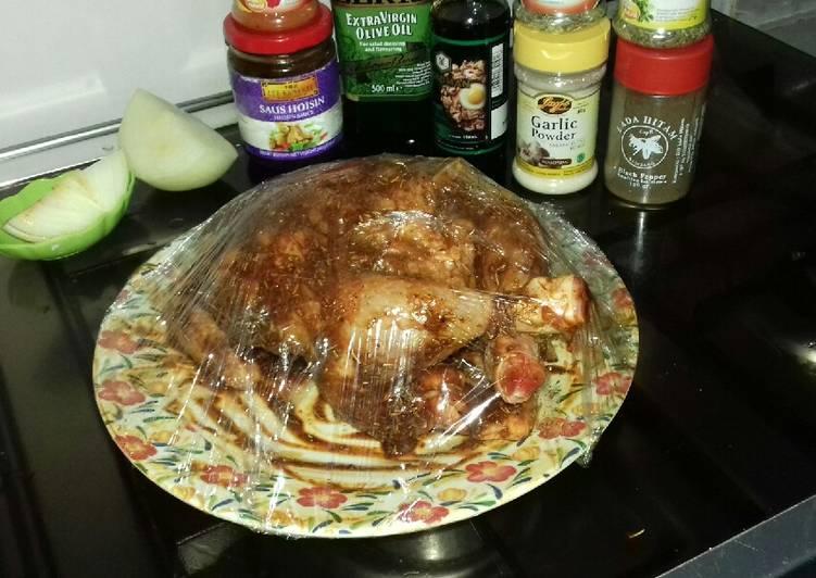 Cara Gampang Membuat Ayam panggang oven, Sempurna