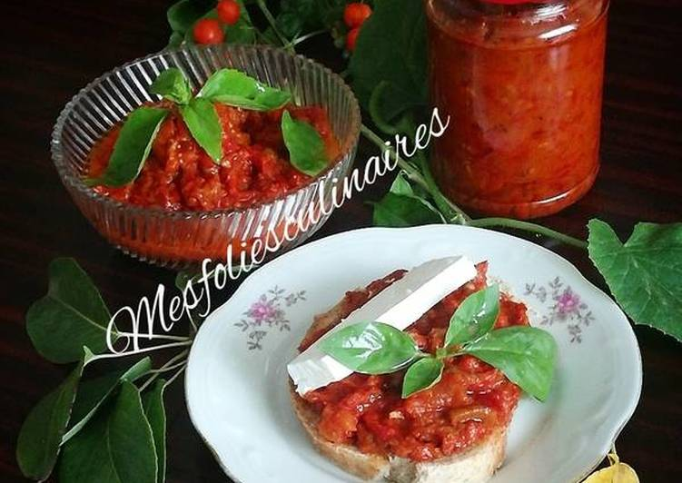 Pinđur - sauce de légumes