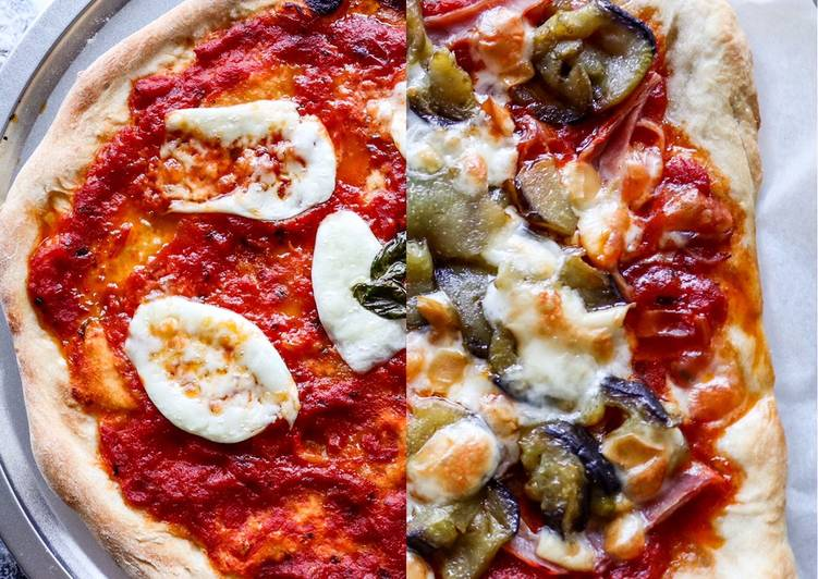 Foods That Can Make You Happy Pizza Margherita con bufala | Pizza Melanzane Prosciutto Cotto e Provola Affumicata