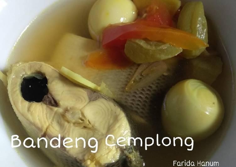 Sup Ikan Bandeng Kuning (Cemplong khas Surabaya)