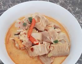 Lodeh Tewel (lodeh nangka muda)